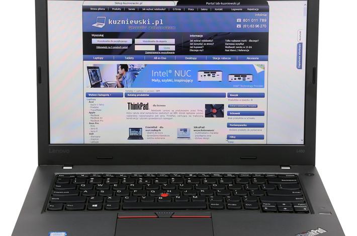 Lenovo ThinkPad L460 – wygodny laptop ze sprawdzonymi podzespołami